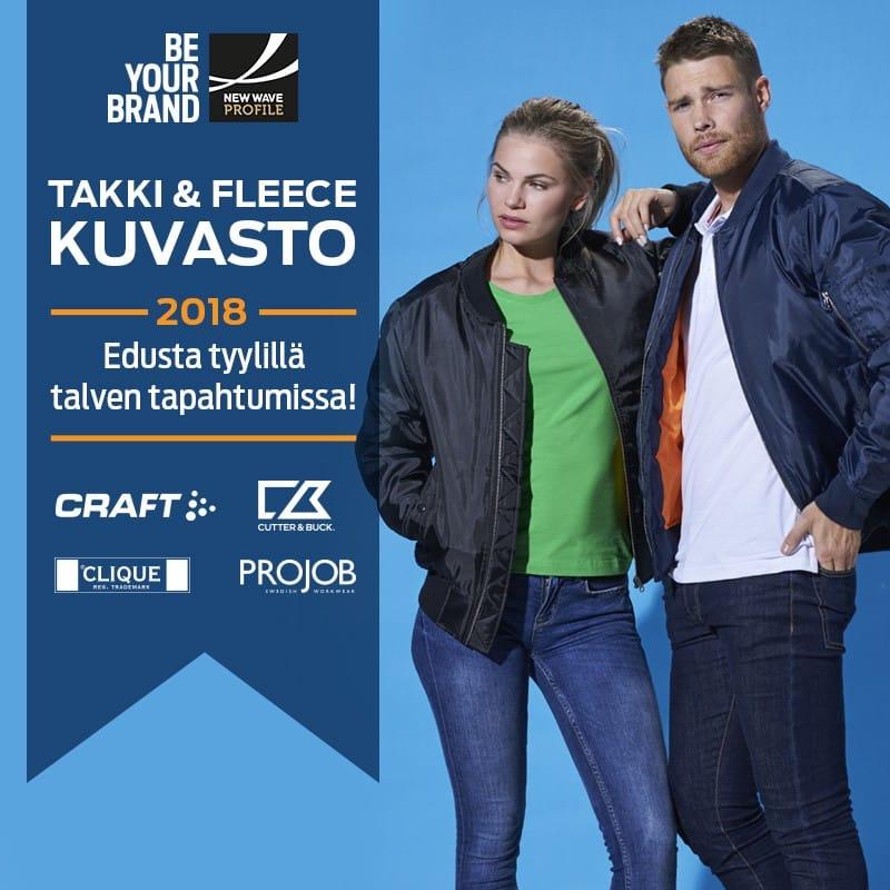 Talven ja kevään 2018 tapahtumien takit!