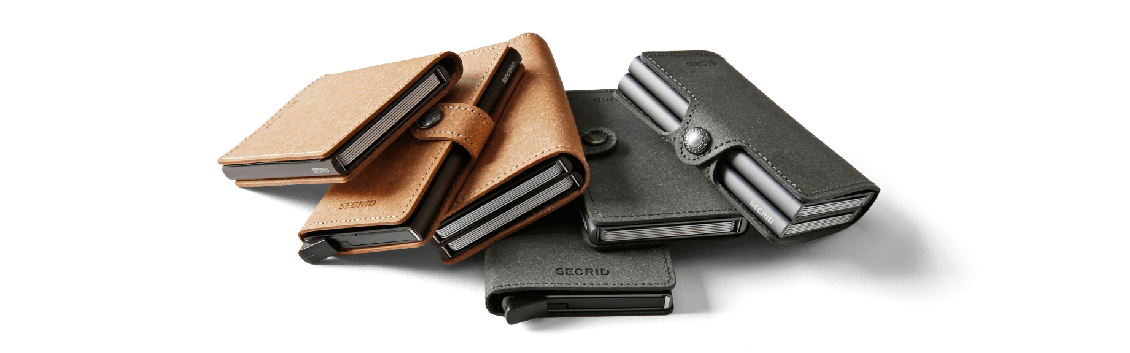 RFID suojatut Secrid lompakot
