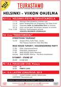 Helsinkiviikko täynnä tapahtumaa Teurastamolla!