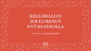 Kellohallin Joululounas 2019 - tutustu menuun ja varaa seurueellesi!