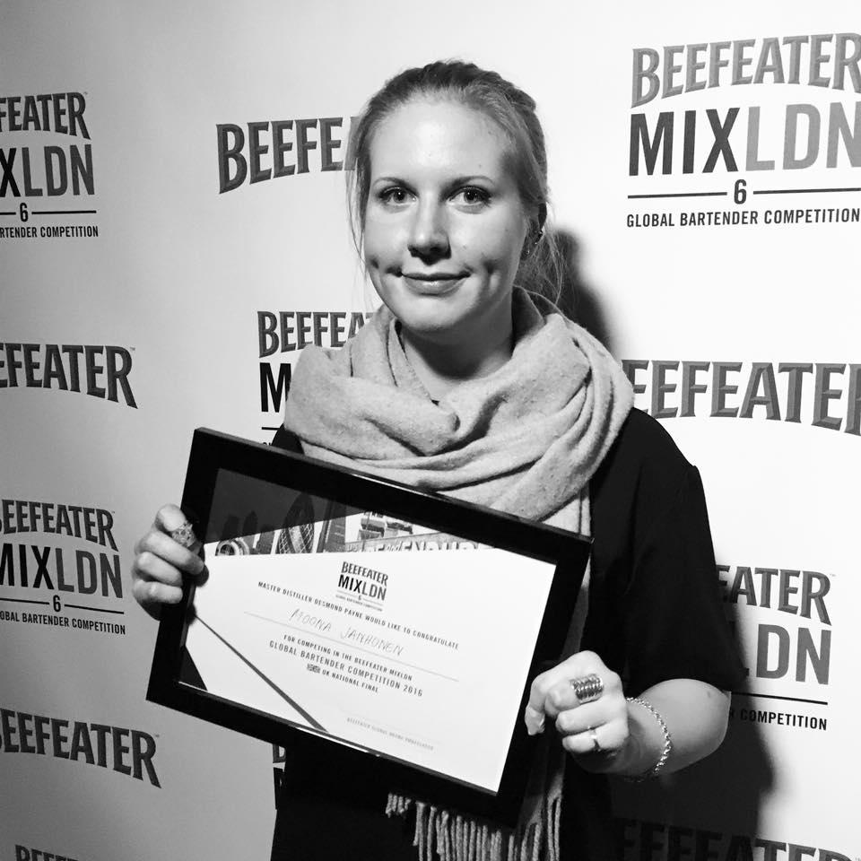 Suomen MXDLND cocktailkilpailun voitto A21seen
