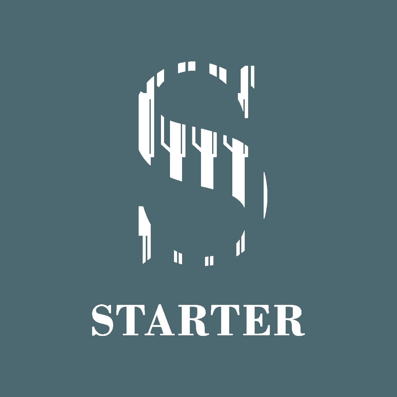 Starter Helsinki White logo